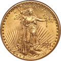 Saint-Gaudens Double Eagles, 1911-D/D $20 FS-501 MS66★ NGC. CAC....