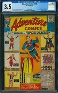 Silver Age (1956-1969):Superhero, Adventure Comics #300 (DC, 1962) CGC VG- 3.5 Cream to off-white pages.