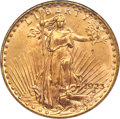 Saint-Gaudens Double Eagles, 1923 $20 MS65 PCGS....