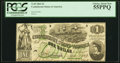 Confederate Notes:1862 Issues, T45 $1 1862 PF-1 Cr. 342A PCGS Choice About New 55PPQ.. ...