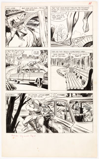 Don Heck and André LeBlanc Mandrake #1 Story Page 11 Original Art (King, 1966)