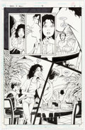 Original Comic Art:Panel Pages, Peter Gross Books of Magic #39 Story Page 18 Original Art (DC, 1997)....