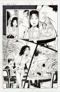 Peter Gross Books of Magic #39 Story Page 18 Original Art (DC, 1997)