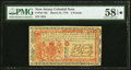 Colonial Notes:New Jersey, New Jersey March 25, 1776 £3 PMG Choice About Unc 58 EPQ★ .. ...