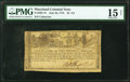 Colonial Notes:Maryland, Maryland July 26, 1775 $2 2/3 PMG Choice Fine 15 Net.. ...