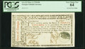 Colonial Notes:Georgia, Georgia May 4, 1778 $30 Inverted Seal PCGS Very Choice New 64.. ...