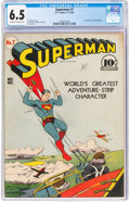 Golden Age (1938-1955):Superhero, Superman #7 (DC, 1940) CGC FN+ 6.5 Off-white to white pages.