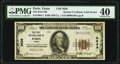 National Bank Notes, Paris, TX - $100 1929 Ty. 1 The First National Bank Ch. # 3638 PMG Extremely Fine 40.. ...