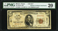 National Bank Notes:Texas, Moore, TX - $5 1929 Ty. 1 The Moore National Bank Ch. # 8817 PMG Very Fine 20.. ...