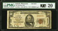Duluth, MN - $50 1929 Ty. 1 The Northern National Bank Ch. # 9327 PMG Very Fine 20