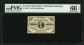 Fractional Currency:Third Issue, Fr. 1227 3¢ Third Issue PMG Gem Uncirculated 66 EPQ.. ...