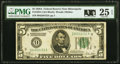 Fr. 1951-I $5 1928A Federal Reserve Note. PMG Very Fine 25 EPQ