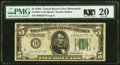 Small Size:Federal Reserve Notes, Fr. 1951-I $5 1928A Federal Reserve Note. PMG Very Fine 20.. ...