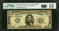 Fr. 1950-I $5 1928 Federal Reserve Note. PMG Choice Fine 15