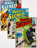 Silver Age (1956-1969):Horror, House of Secrets Group (DC, 1957-65) Condition: Average FN.... (Total: 15 Comic Books)