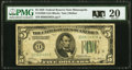 Small Size:Federal Reserve Notes, Fr. 1950-I $5 1928 Federal Reserve Note. PMG Very Fine 20.. ...