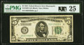 Small Size:Federal Reserve Notes, Fr. 1950-I $5 1928 Federal Reserve Note. PMG Very Fine 25.. ...