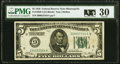 Fr. 1950-I $5 1928 Federal Reserve Note. PMG Very Fine 30