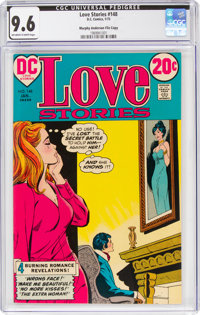 Love Stories #148 Murphy Anderson File Copy (DC, 1973) CGC NM+ 9.6 Off-white to white pages