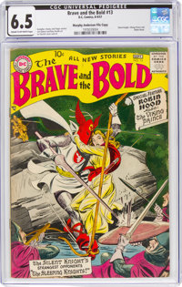 The Brave and the Bold #13 Murphy Anderson File Copy (DC, 1957) CGC FN+ 6.5 Cream to off-white pages