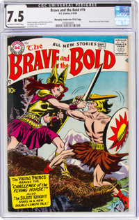 The Brave and the Bold #19 Murphy Anderson File Copy (DC, 1958) CGC VF- 7.5 Off-white to white pages
