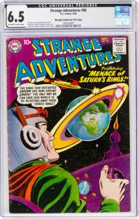 Strange Adventures #96 Murphy Anderson File Copy (DC, 1958) CGC FN+ 6.5 Off-white to white pages