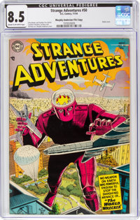 Strange Adventures #50 Murphy Anderson File Copy (DC, 1954) CGC VF+ 8.5 Cream to off-white pages