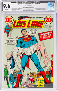 Superman's Girlfriend Lois Lane #128 Murphy Anderson File Copy (DC, 1972) CGC NM+ 9.6 White pages