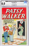 Golden Age (1938-1955):Romance, Patsy Walker #21 Mile High Pedigree (Timely, 1949) CGC VF 8.0 White pages....