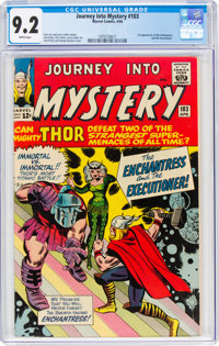 Journey Into Mystery #103 (Marvel, 1964) CGC NM- 9.2 White pages