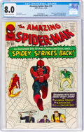 Silver Age (1956-1969):Superhero, The Amazing Spider-Man #19 (Marvel, 1964) CGC VF 8.0 Off-white to white pages....