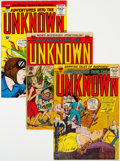 Golden Age (1938-1955):Horror, Adventures Into The Unknown Group of 17 (ACG, 1953-65) Condition: Average VG+.... (Total: 17 )