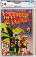 Golden Age (1938-1955):Science Fiction, Mystery in Space #2 Bethlehem Pedigree (DC, 1951) CGC FN 6.0 Off-white to white pages....