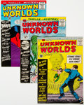 Silver Age (1956-1969):Horror, Unknown Worlds Group of 14 (ACG, 1960-65) Condition: Average FN-.... (Total: 14 )