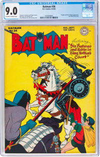 Batman #36 (DC, 1946) CGC VF/NM 9.0 Off-white to white pages