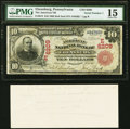 National Bank Notes:Pennsylvania, Ebensburg, PA - $10 1902 Red Seal Fr. 613 The American National Bank Ch. # (E)6209 PMG Choice Fine 15.. ... (Total: 2 items)