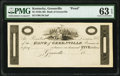 Obsoletes By State:Kentucky, Greenville, KY- Bank of Greenville $5 18__ UNL as Hughes 325 Proof PMG Choice Uncirculated 63 EPQ.. ...