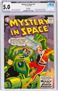 Silver Age (1956-1969):Superhero, Mystery in Space #53 Big Apple Pedigree (DC, 1959) CGC VG/FN 5.0 Cream to off-white pages....