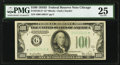 Fr. 2156-G* $100 1934D Federal Reserve Note. PMG Very Fine 25