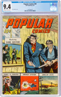 Golden Age (1938-1955):Adventure, Popular Comics #99 (Dell, 1944) CGC NM 9.4 Off-white to white pages....