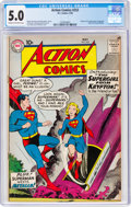 Silver Age (1956-1969):Superhero, Action Comics #252 (DC, 1959) CGC VG/FN 5.0 Cream to off-white pages....