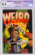 Golden Age (1938-1955):Horror, Weird Mysteries #6 (Gillmor, 1953) CGC Apparent FN+ 6.5 Slight (C-1) Off-white to white pages....