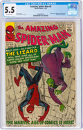 Silver Age (1956-1969):Superhero, The Amazing Spider-Man #6 (Marvel, 1963) CGC FN- 5.5 Off-white pages....