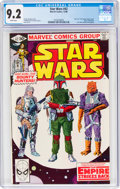Modern Age (1980-Present):Science Fiction, Star Wars #42 (Marvel, 1980) CGC NM- 9.2 White pages....