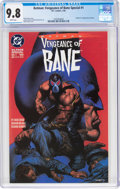 Modern Age (1980-Present):Superhero, Batman: Vengeance of Bane Special #1 (DC, 1993) CGC NM/MT 9.8 White pages....