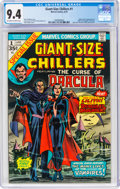 Bronze Age (1970-1979):Horror, Giant-Size Chillers #1 (Marvel, 1974) CGC NM 9.4 Off-white to white pages....