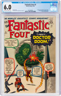Silver Age (1956-1969):Superhero, Fantastic Four #5 (Marvel, 1962) CGC FN 6.0 Off-white to white pages....