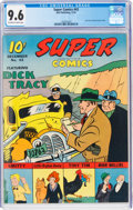 Golden Age (1938-1955):Adventure, Super Comics #43 (Dell, 1941) CGC NM+ 9.6 Off-white to white pages....