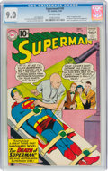 Silver Age (1956-1969):Superhero, Superman #149 (DC, 1961) CGC VF/NM 9.0 Off-white pages....