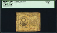 Continental Currency July 22, 1776 $30 PCGS Very Fine 25
